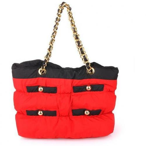 Moschino cheap and chic Soft Shopper Red