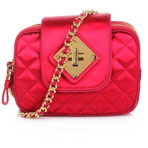 Moschino Pochette Red Gold