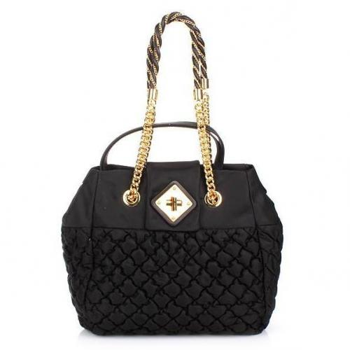 Moschino Shoulder Bag Black Gold