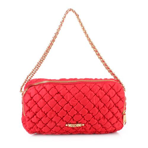 Moschino Shoulder Bag Luminous Rot