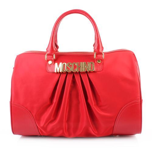 Moschino Bowling Bag Rot