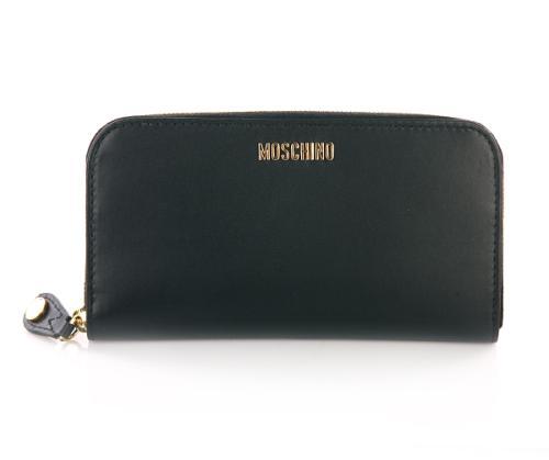 Moschino Brieftasche schwarz
