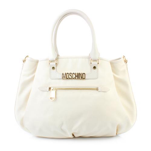 Moschino Henkeltasche Weiß