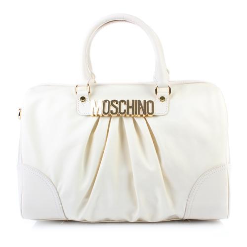 Moschino Bowling Bag Weiß