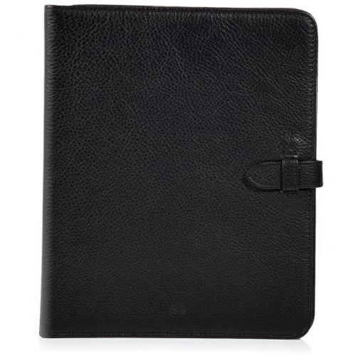 Mulberry Black Adjustable iPad Case