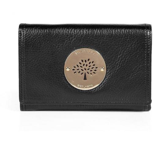 Mulberry Black Daria French Purse