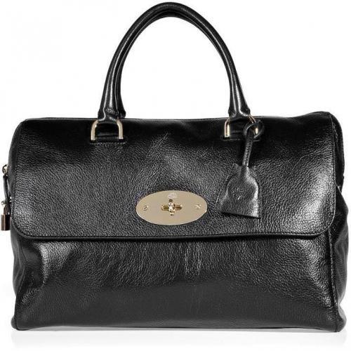 Mulberry Black Del Rey Soft Spongy Bag