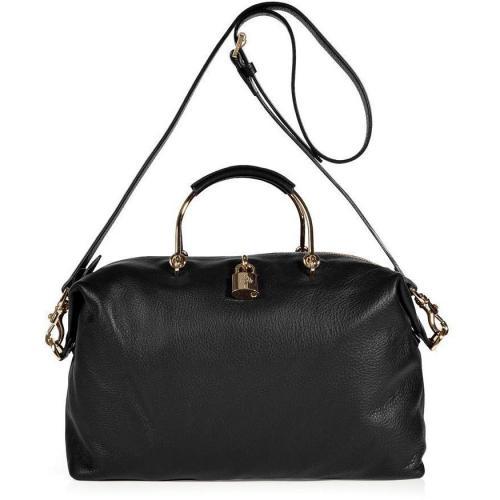 Mulberry Black Hetty Clipper Soft Matte Bag