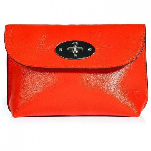 Mulberry Flame Locked Cosmetic Purse