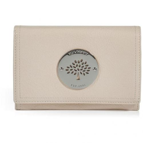 Mulberry Marshmallow White Daria French Purse