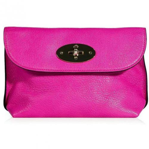 Mulberry Mulberry Pink Locked Cosmetic Purse