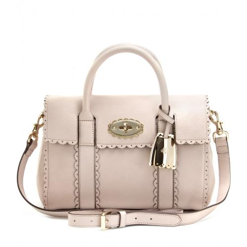 Mulberry Cookie Small Bayswater Weiß