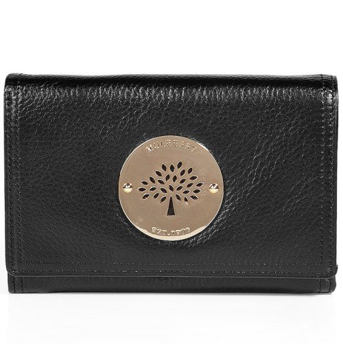 Mulberry Schwarze Daria French Purse