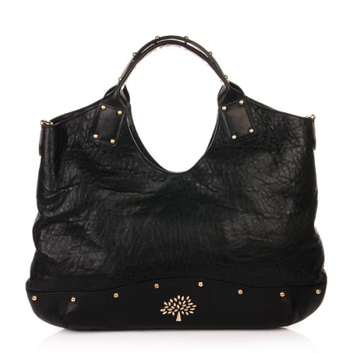 Mulberry Tasche Holly Tote Large Grain Nappa Schwarz