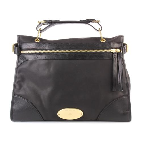 Mulberry Taylor Smooth Leather Black