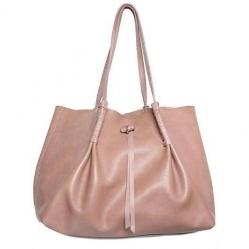 Nina Ricci - Grainy Kalbsleder Shopper Schulter Tasche