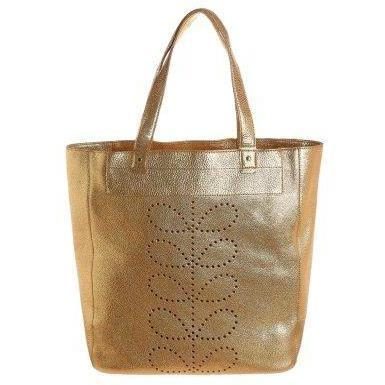 Orla Kiely WILLOW Shopping Bag gold