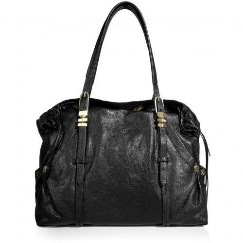 Oryany Black Satchel Bag