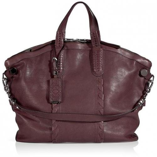 Oryany Rose Brown Cassi Tote with Shoulder Strap