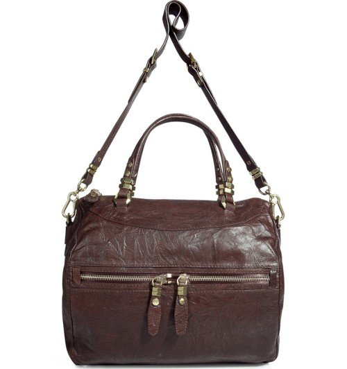 Oryany Chocolate Satchel Tasche