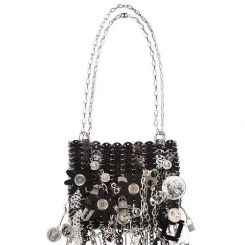 Paco Rabanne - Le 69 Iconic Pitch Schwarze Schulter Tasche