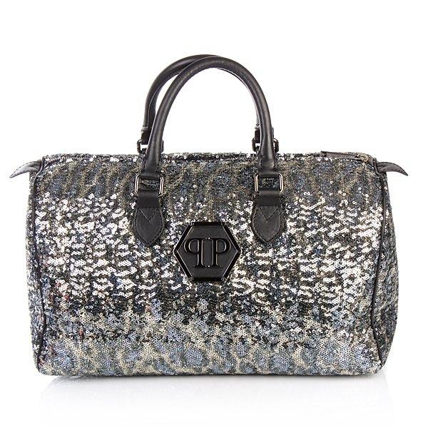 Philipp Plein Handbag Glitter glitzernde Handtasche