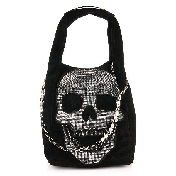 philipp plein bag rouge black designer handtaschen. Black Bedroom Furniture Sets. Home Design Ideas