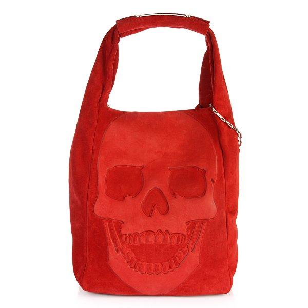 Bag Gummy Skull Red