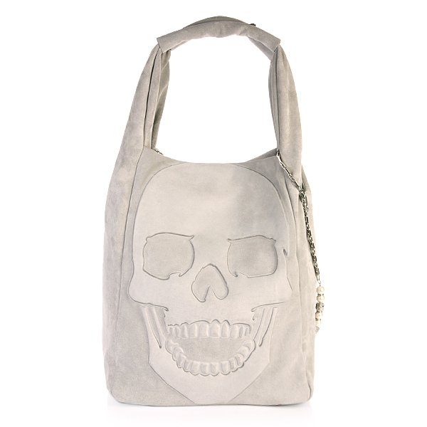 Bag Gummy Skull Grey
