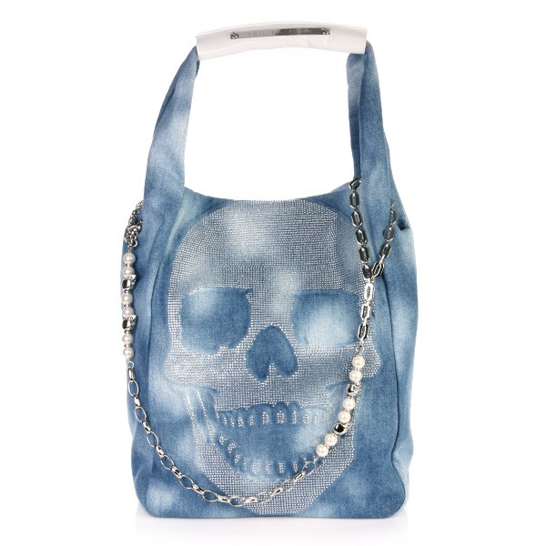 Philipp Plein Bag blue Diamond light blue