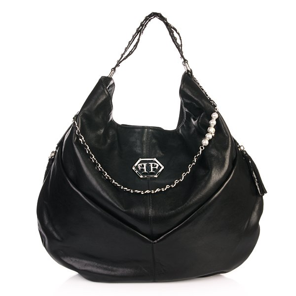 Philipp Plein Handbag Bohemian Black