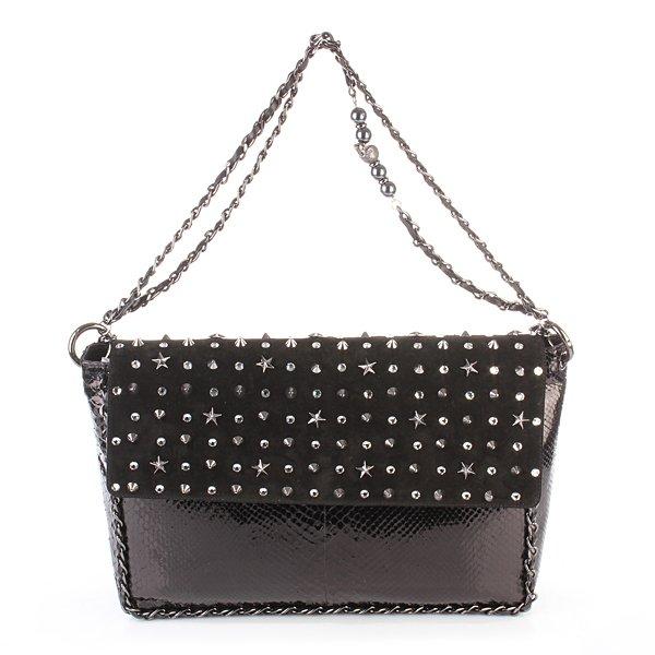 Philipp Plein Handbag M Milky Way Black