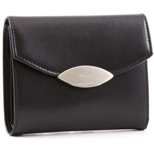 Picard Basic Lounge Geldbörse Damen Leder schwarz