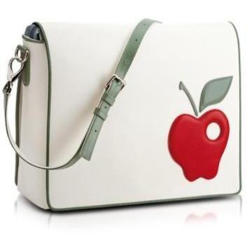 Pineider Roter Apfel- Messengertasche