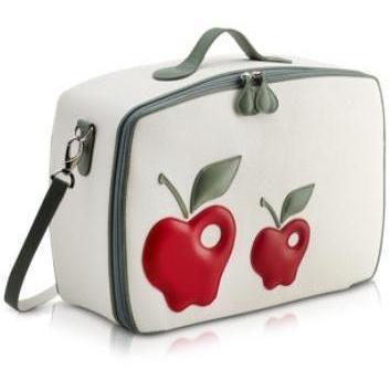 Pineider Roter Apfel - Mini-Reisetasche