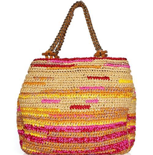 Pinke Designer Tasche von Ermanno Scervino