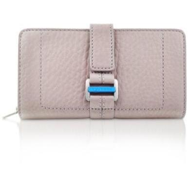 Piquadro Land - Damen Brieftasche mit rundum Reißverschluss