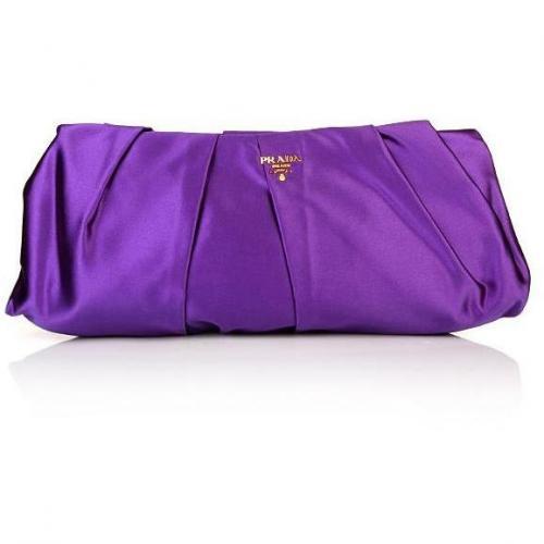 Prada Raso Pochette Purple