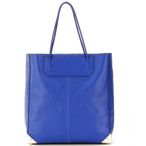Alexander Wang Prisma Leder Shopper Blau