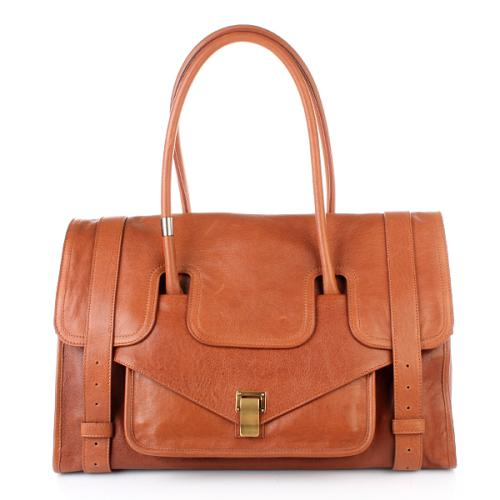 Proenza Schouler PS1 Keep All Large Leather Saddle