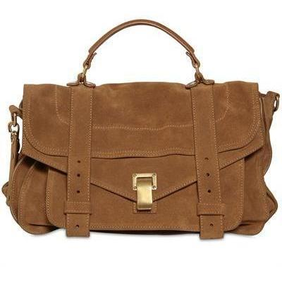 Proenza Schouler - PS1 Medium Wildleder Tasche