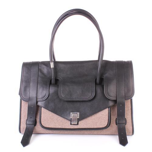 Proenza Schouler PS1 Borsa Leather Black
