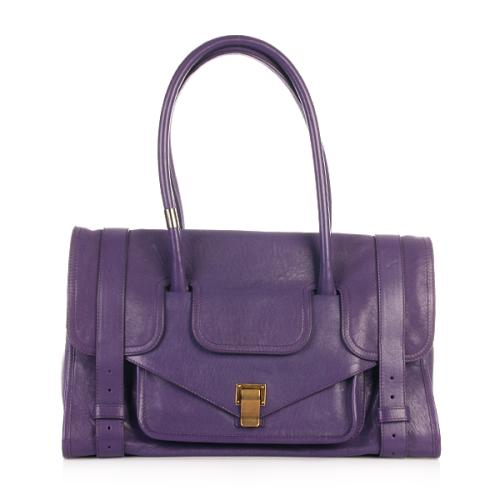 Proenza Schouler PS1 Keep All Small Lux Leather Violet