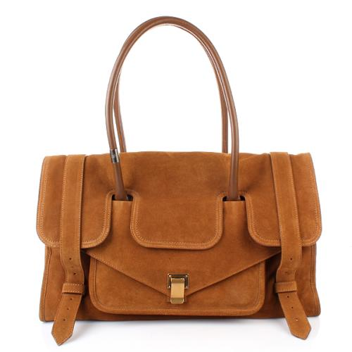 Proenza Schouler PS1 Keep All Large Leather Tobacco