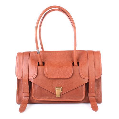 Proenza Schouler PS1 Borsa Lux Leather Saddle