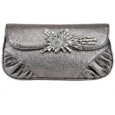 Raven Kauffman Couture - Sparkle Lambskin Swarovski Shoulder Bag