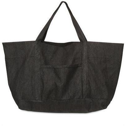 Rick Owens - Crack Baumwoll Denim Handtasche