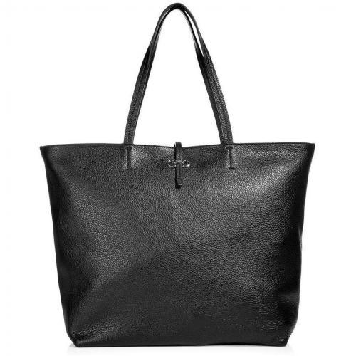 Salvatore Ferragamo Black Gina Bag