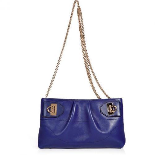 Salvatore Ferragamo Royal Blue Cross Body Bag