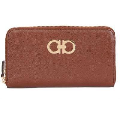 Salvatore Ferragamo - Zip All Around Leder Brieftasche